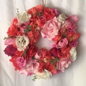 Other - Artificial flower monogram or wreath